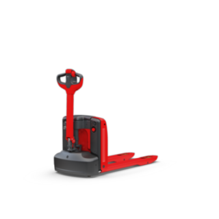 Thanks to its maneuverability and compactness, the MT15 electric pallet truck is particularly suitable for narrow routes.