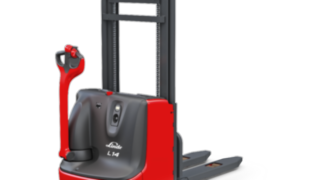 The L14 C pallet stacker from Linde Material Handling
