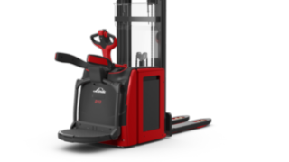 Electric double stackers D12 – D14 AP by Linde guarantee flexibility and performance.