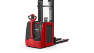 Electric Double Deck High Lift Pallet Trucks D12–D14 from Linde Material Handling