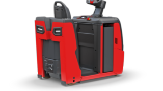 The electric tow tractors P40–P60 C from Linde Material Handling are compact and maneuverable towing vehicles.