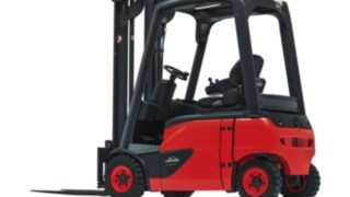 Linde E16–E20 EVO electric four-wheel forklift truck
