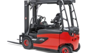 The Linde Material Handling electric forklift truck E20 – E35 R