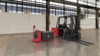 Load balancing for the E30 electric forklift truck from Linde Material Handling