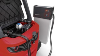 The load balancing system from Linde Material Handling helps with energy management.