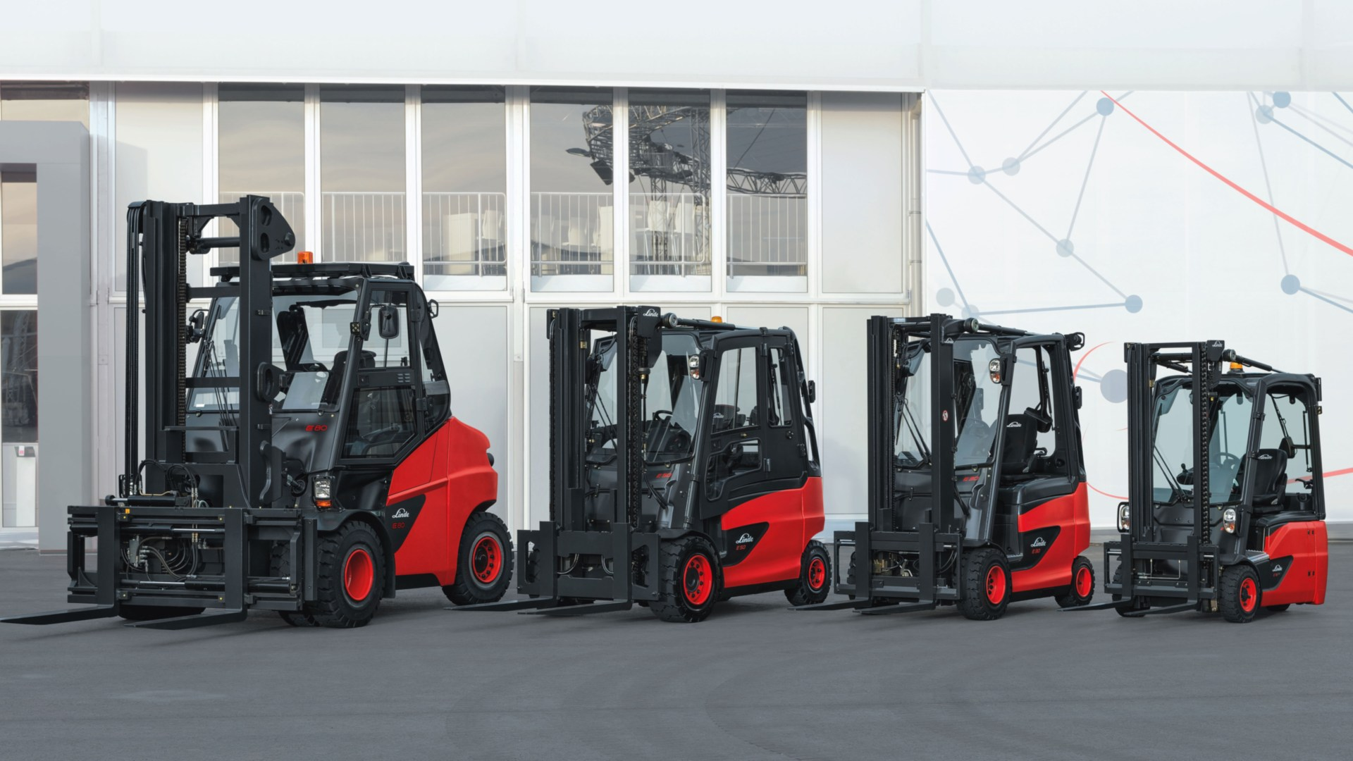 Electric forklift trucks from Linde Material Handling