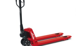 The Linde Material Handling hand pallet truck M25