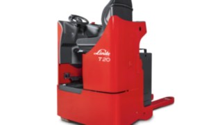 The Linde T20 R Seated Pallet Truck
