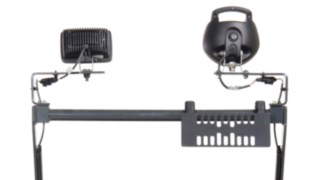 Accessory support for pallet trucks from Linde Material Handling