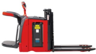 Lithium-ion battery for pallet stackers from Linde Material Handling