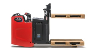 The speed optimization of the D10 FP from Linde Material Handling increases the performance of the truck.