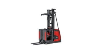 The Linde Material Handling order picker V10