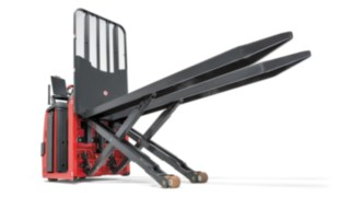 Load backrest of the order picker N20 C LX from Linde Material Handling