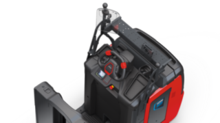 Accessories for various working materials on the V08 from Linde Material Handling.