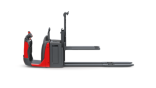 The N20 LoL order picker from Linde Material Handling enables the simultaneous transport of two pallets.