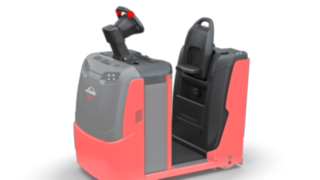 The suspension of the driver's platform of the P40–P60 C from Linde Material Handling protects the driver against vibrations and shocks.