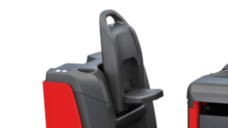 Pedestrian operation of the P40–P60 C from Linde Material Handling enables an operation outside the truck.
