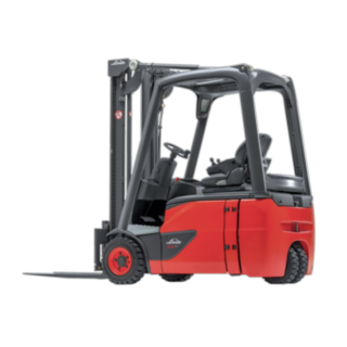 Linde E12–E20 EVO electric three-wheel forklift truck