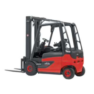 The Linde Material Handling electric forklift truck E20 - E35