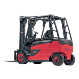 The E35 – E50 electric truck from Linde
