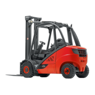 The Linde H25 - H35 EVO IC truck