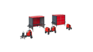The Linde Material Handling FT08 - FT20 Modular Logistic Train