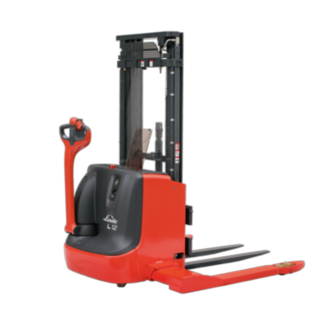 The Linde Material Handling electric pallet stackers of the L10 AS and L12 AS