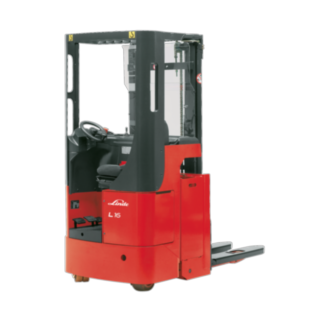 The Linde Material Handling electric pallet stacker L12 – L16 R/Ri