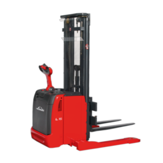 The Linde Matertial Handling pedestrian pallet stacker and double stacker L14 – L16 AS AP/AS