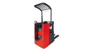 The Linde electric pallet stacker L14–L16 R