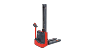 The electric pallet stackers ML 10 and MM 10 from Linde Material Handling
