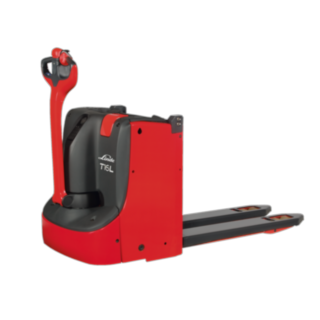 The pallet truck with order picking lift T16 L from Linde Material Handling
