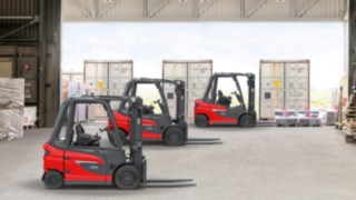 The X20 – X35 electric forklift trucks from Linde Material Handling are part of a platform that is compatible with all types of drive