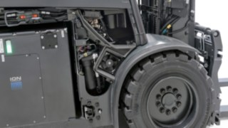 The Lithium-ion Battery for the X35 Electric Forklift Truck from Linde Material Handling