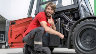 The Easy-to-Service X35 Electric Forklift Truck from Linde Material Handling