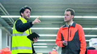 Consultation with the help of the Linde Safety Scan