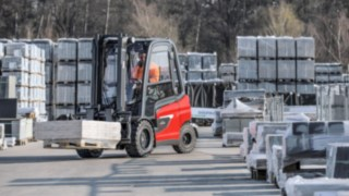 The X35 Electric Forklift Truck from Linde Material Handling