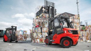 IC-Trucks from Linde Material Handling with hydrostatic drive
