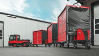 Tow tractors from Linde Material Handling