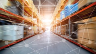 Networked warehouse with software for intralogistics and automation