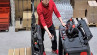 Video about the SA option for N20 and N20 C order pickers from Linde Material Handling