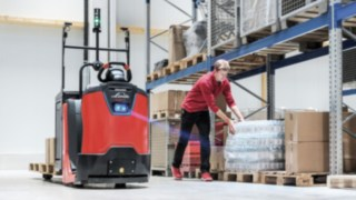 The N20 SA by Linde Material Handling in use
