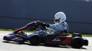 Linde Material Handling's electric kart E1 sets a world record