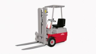 Electric forklift E10 - E15 from Linde Material Handling