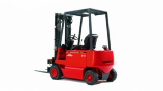 Electric forklift E12 - E18 from Linde Material Handling from 1982