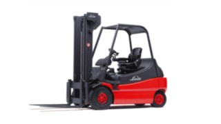 Electric forklift E25 from Linde Material Handling from 1994