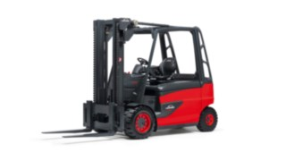 2011 E50 electric forklift truck from Linde Material Handling