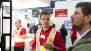 Linde Material Handling at A+A 2019