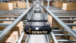 The automated storage and retrieval system Multishuttle from Dematic