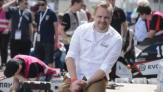 Tim Hannig, Chairman of Formula Student Germany at the Hockenheimring